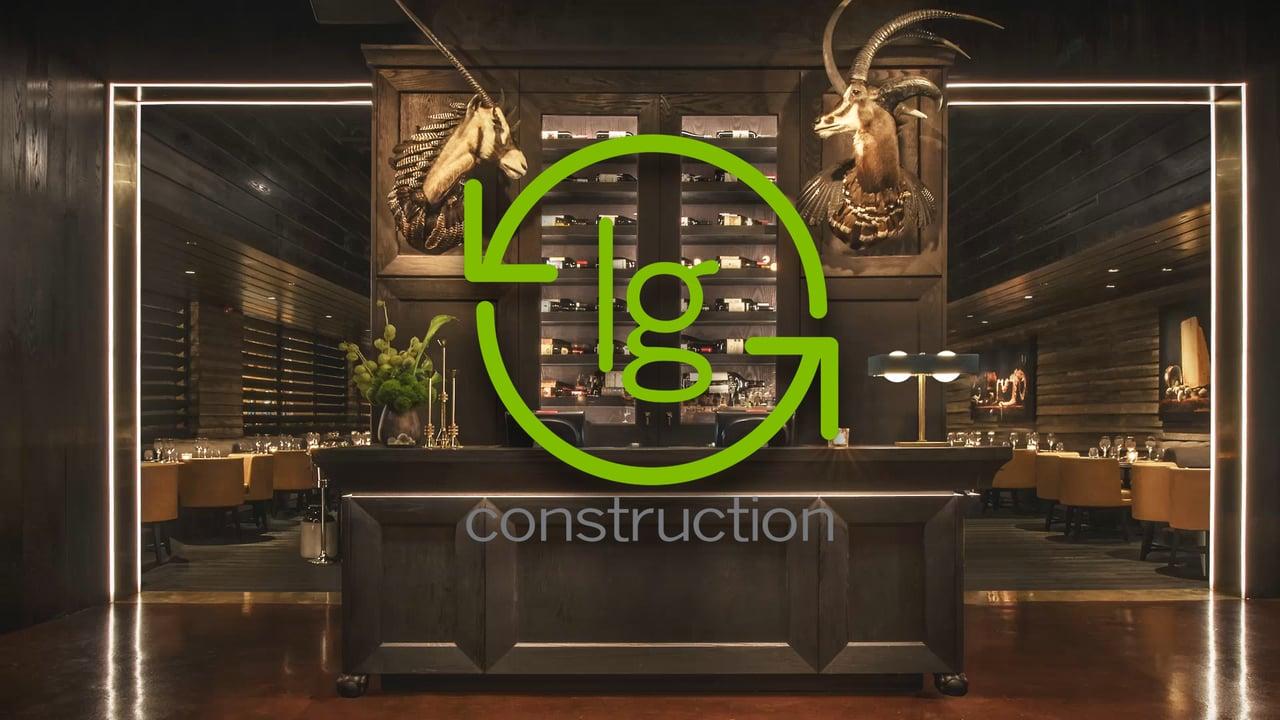 lg construction & development | construction overview - indirap